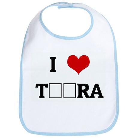 I Love TЁЯRA Bib