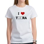 I Love TЁЯRA Women's T-Shirt