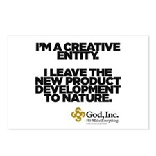 God, Inc. Nature Postcards (Package of 8)