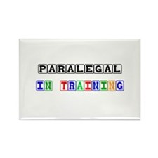 Paralegal In Training Rectangle Magnet