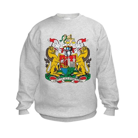 Bristol Coat of Arms Kids Sweatshirt