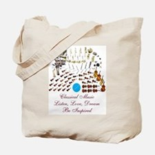 Classical Music-Be Inspired Tote Bag