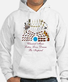Classical Music-Be Inspired Hoodie
