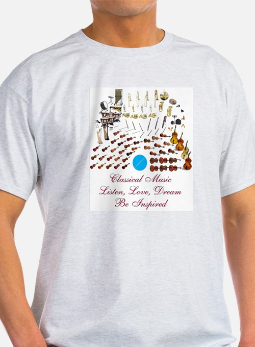 Classical Music-Be Inspired T-Shirt