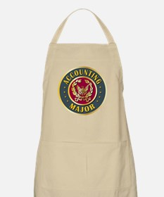 Accounting Major College Course BBQ Apron