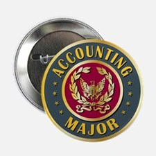 """Accounting Major College Course 2.25"""" Button"""
