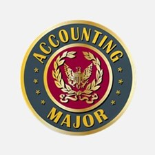"Accounting Major College Course 3.5"" Button"