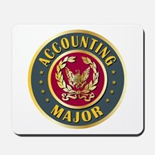 Accounting Major College Course Mousepad
