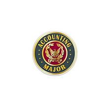 Accounting Major College Course Mini Button (10 pa
