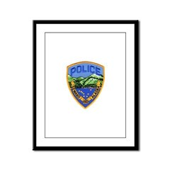Seward Police Framed Panel Print