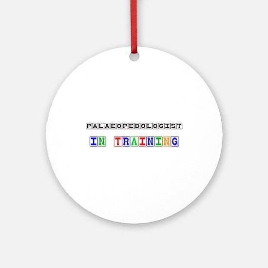 Palaeopedologist In Training Ornament (Round)