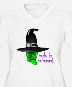 Scary Halloween Witch T-Shirt