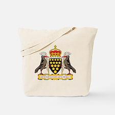 Cornwall Coat of Arms Tote Bag