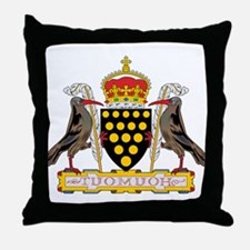 Cornwall Coat of Arms Throw Pillow