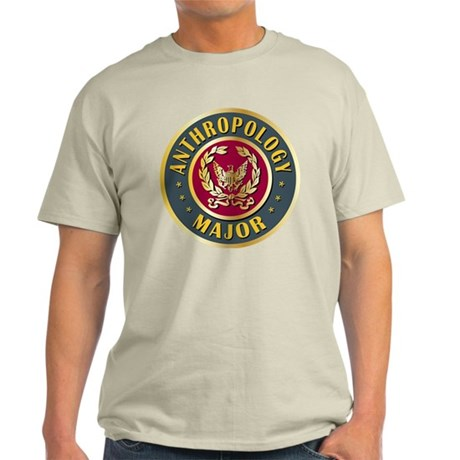 Anthropology Major College Course Light T-Shirt