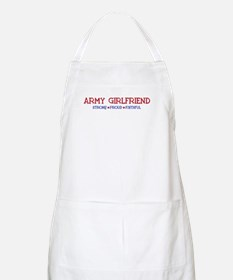 Strong, Proud, Faithful - Army Girlfriend BBQ Apro