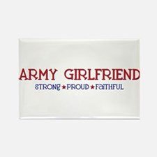 Strong, Proud, Faithful - Army Girlfriend Rectangl