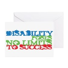 Disability No Limits Greeting Cards (Pk of 20)