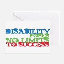 Disability No Limits Greeting Card