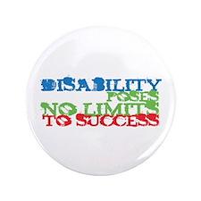 "Disability No Limits 3.5"" Button"