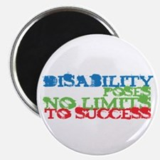 """Disability No Limits 2.25"""" Magnet (10 pack)"""