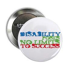 "Disability No Limits 2.25"" Button"