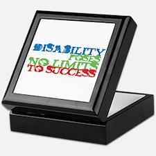 Disability No Limits Keepsake Box