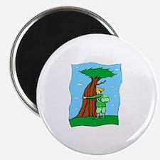 """Tree Hugger 2.25"""" Magnet (100 pack)"""