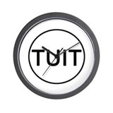 Round tuit clock Wall Clocks