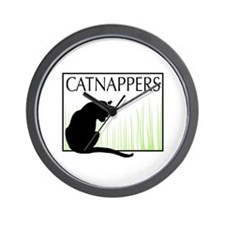 CatNappers TNR Wall Clock