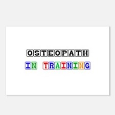 Osteopath In Training Postcards (Package of 8)