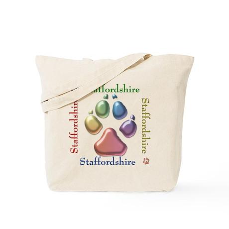 Staffy Name2 Tote Bag