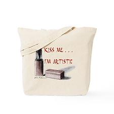 Kiss Me . . . Tote Bag
