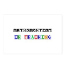 Orthodontist In Training Postcards (Package of 8)