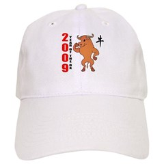 Year of The Ox 2009 Baseball Cap