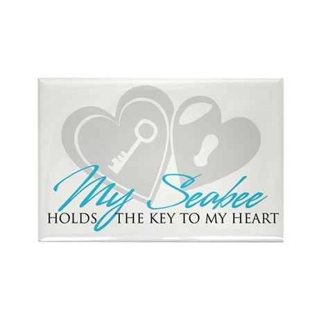Key to my Heart Rectangle Magnet (10 pack)