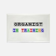 Organist In Training Rectangle Magnet