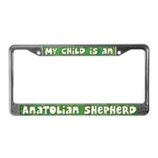 My Kid Anatolian Shepherd License Plate Frame
