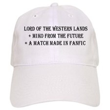 Lord Miko Match Made in Fanfic Baseball Cap