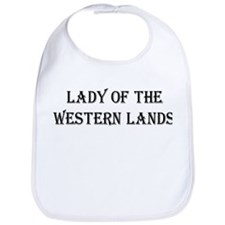 Lady of the Western Lands Bib