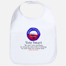 Big Girls for Barack Vote Smart Bib