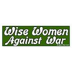 Wise Women Against War Sticker