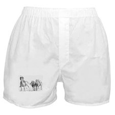 Cute Wrestlers Boxer Shorts