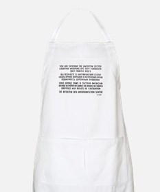 Berlin Wall - Checkpoint Charlie BBQ Apron