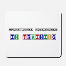 Operational Researcher In Training Mousepad