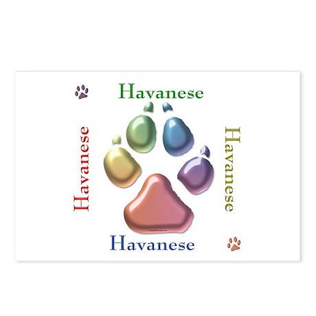 Havanese Name2 Postcards (Package of 8)