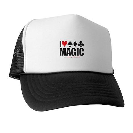 I Love Magic Trucker Hat