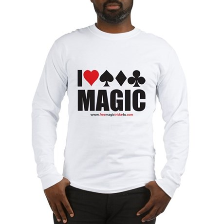 I Love Magic Long Sleeve T-Shirt
