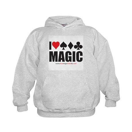 I Love Magic Kids Hoodie