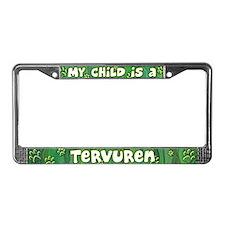 My Kid Tervuren License Plate Frame